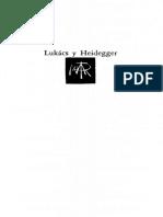 Lukács y Heidegger. Hacia una nueva filosofía nueva - Lucien Goldmann.pdf