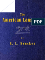 The American Language by H. L. Mencken.epub