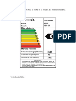 Calculo Eficiencia Energetica Secadoras