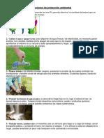 Acciones de Protección Ambiental