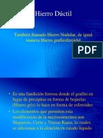 5. Hierro Nodular