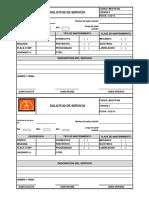 MEQ-FR-005 Solicitud de Servicio