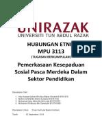 Kertas Kerja Berkumpulan - MPU3113