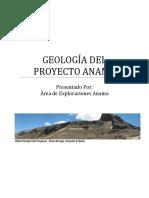 Informe Geologico Proyecto Anama