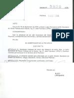 Decreto Jose Lopez