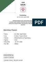Case ILEUS - Arliza.pptx