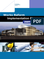 Works Reform Implementation Plan