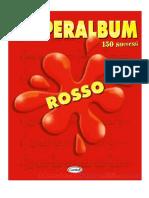 Superalbum Rosso - Indice
