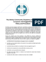 complaints and suggestions policy  procedure feb 16
