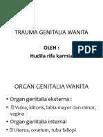 Trauma Genitalia Wanita