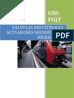 Valvulas Industriales Actuadores Neumaticos e Hidraulicos