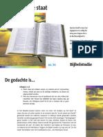 Palestijnse staat - Bijbelstudie