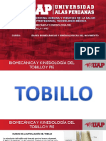 Biomecanica de Tobillo y Pie
