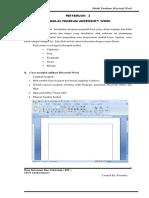 Panduan Microsoft Word 2007