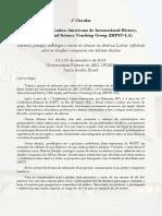 IHPST LA 2018 1a Circular Portugues