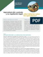 Agricultura Por Contrato y Su Regulación Legal Qué Deberían Saber Los Agricultores