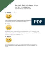 Arti Emoji