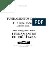 Share Fundamentos de la fe cristiana.pdf