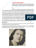 Historia Del Canto Luna de Xelaju