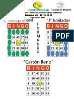 Cooeprouasd Juego de Bingo 1er. Encuentro de Socios Pensionados y Jubilados 1