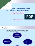 Marcela Guzman Genero Experiencia Chilena