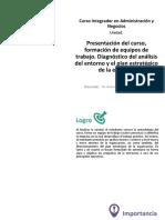 U1_Presentacion Del Curso, Formacion de Equipos de Trabajo. (1)