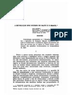 Mott - A revolução dos negros no Haiti e o Brasil