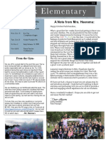 park newsletter oct