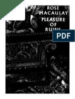 Pleasure of Ruins