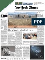 International New York Times - 4 October 2018