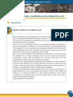 Modelos Cuantitativos y Cualitativos en Investigación Social