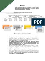 Analisis Del Proceso Migratorio en El Perú