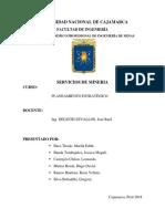 SERVICIOS de MINERÍA Planeamiento Estratégico