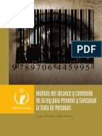 ANÁLISIS DEL ALCANCE Y CONTENIDO DE LA LEY PARA PREVENIR Y SANCIONAR LA TRATA DE PERSONAS LIBRO.pdf