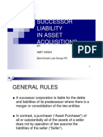 6245aSuccessor Liability in Asset Acquisitions