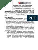 Propuesta de Alianza Con Isntitucion Educativas de Chanchamayo San Ramon