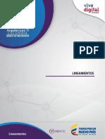 Arquitectura TI Colombia - Marco de Referencia-  Lineamientos.pdf