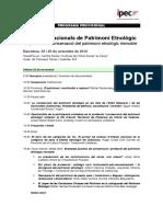 Jornades Nacionals Patrimoni Etnologic Programa Provisional3