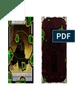 DARK HERESY - Illumination - Faceless Magus Cards