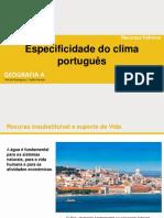 Especificidade Do Clima Português