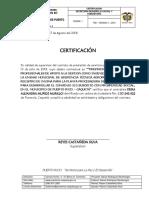 Certificacion de Supervisor