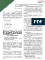 Revocan resolución que declaró improcedente solicitud de inscripción de lista de candidatos al Concejo Distrital de Sangallaya provincia de Huarochirí departamento de Lima
