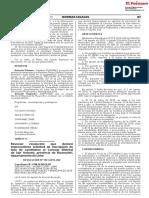 Revocan resolución que declaró improcedente solicitud de inscripción de lista de candidatos al Concejo Distrital de San Antonio provincia de Huarochirí departamento de Lima