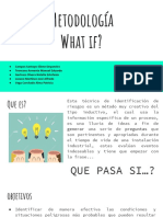 Metodología What If