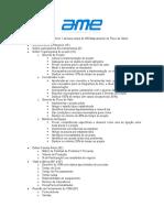 Instruções - Preparação MFV