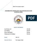 DISTRIBUTED GENERATION AND INTEGRATION WITH NATIONAL GRID
