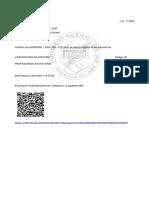 Certificado Sube