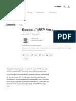 Basics of MRP Area _ SAP Blogs