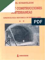 Túneles y Construcciones Subterráneas
