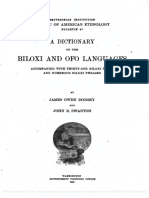 A Dictionary of the Biloxi and Ofo Languages 1912